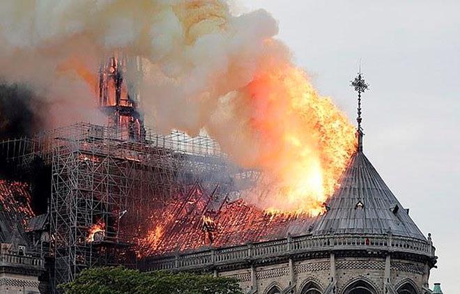 Cơ quan công tố Pháp vẫn chưa thể xác định nguyên nhân xảy ra vụ cháy.