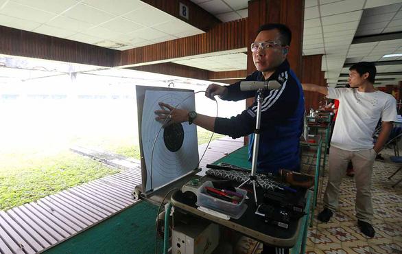Trường bắn Nhổn sẽ được thay hệ thống bia điện tử để phục vụ SEA Games 31