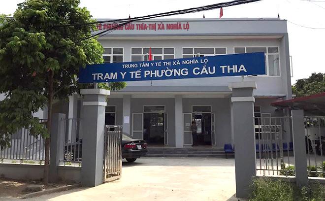 Trạm Y tế phường Cầu Thia vừa được đầu tư xây dựng khang trang, tạo điều kiện tốt nhất phục vụ công tác khám chữa bệnh.