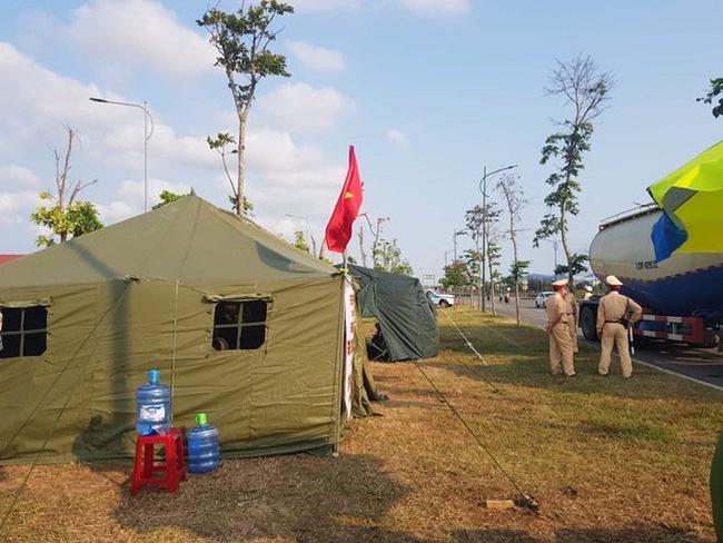 Tỉnh Quảng Nam thành lập bốn chốt phòng chống dịch COVID-19