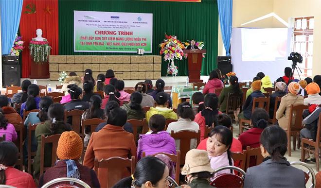 Đến nay, toàn tỉnh đã có phát được 21.000 bếp tại 44 xã, của 4 huyện.