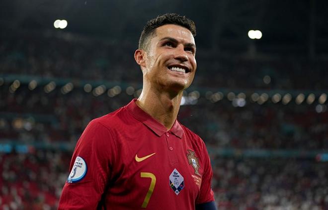 Ronaldo giành Vua phá lưới EURO 2020.