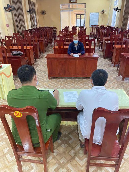 Xã Đông An (Văn Yên) xử phạt trường hợp trốn cách ly  y tế.