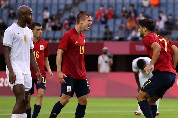 U23 Tây Ban Nha vào bán kết sau 120 phút thi đấu.