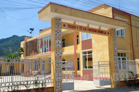 Trạm Y tế xã Thượng Bằng La vừa hoàn thành, đáp ứng nhu cầu chăm sóc sức khỏe ban đầu cho nhân dân trên địa bàn.