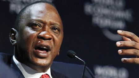 Tổng thống Kenya Uhuru Kenyatta.