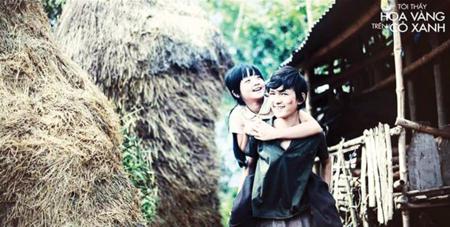 """Phim """"Tôi thấy hoa vàng trên cỏ xanh"""" là phim Nhà nước đặt hàng giành giải thưởng Bông sen vàng LHP Việt Nam lần thứ 19."""