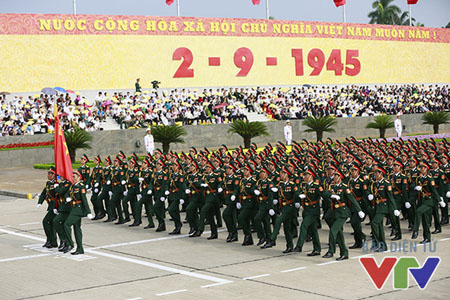 Lễ kỷ niệm 70 năm Cách mạng tháng Tám và Quốc khánh 2/9/2015.