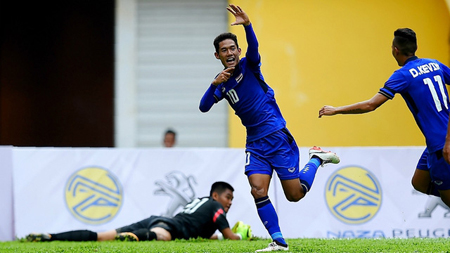 Chaiyawat trở lại ở trận đấu gặp U22 Việt Nam