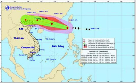 Do ảnh hưởng của hoàn lưu bão số 6, từ chiều tối và đêm ngày mai (23/8) đến ngày 25/8 các khu vực trong tỉnh Yên Bái có mưa, mưa vừa (có nơi mưa to đến rất to) và dông.
