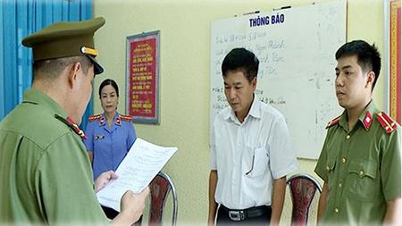 Cơ quan An ninh điều tra Công an tỉnh Sơn La khởi tố và cấm đi khỏi nơi cư trú đối với bị can Trần Xuân Yến.