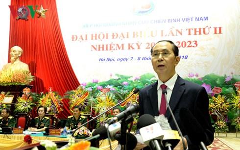 Chủ tịch nước Trần Đại Quang phát biểu tại Đại hội.