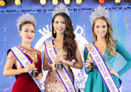 Vượt qua 50 thí sinh, Phan Thị Mơ vừa chính thức đăng quang ngôi vị Hoa hậu Đại sứ Du lịch Thế giới 2018.