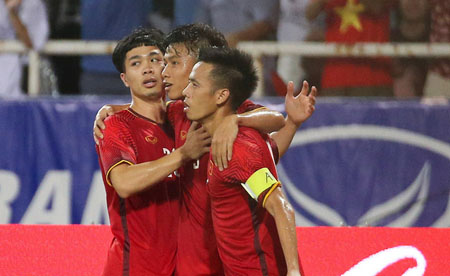 Văn Quyết tiếp tục là đội trưởng của đội tuyển Olympic Việt Nam tại Asiad 2018.