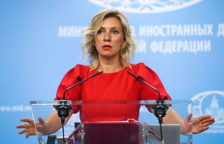 Người phát ngôn Bộ Ngoại giao Nga Maria Zakharova.