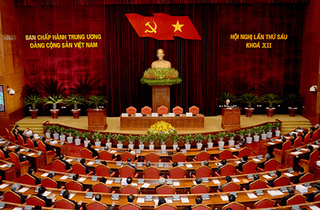 Toàn cảnh Hội nghị Trung ương 6, khóa XII