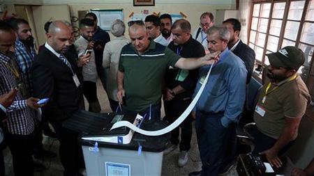 Sáng 9/8, Iraq công bố kết quả cuối cùng cuộc bầu cử Quốc hội ngày 12/5, không thay đổi nhiều so với kết quả công bố trước đó.