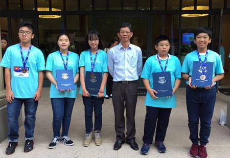 5 học sinh giành huy chương tại chung kết cuộc thi Toán học thế giới WMO 2018.