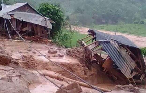Yên Bái nằm trong khu vực đề phòng lũ quét, sạt lở đất do ảnh hưởng hoàn lưu áp thấp sau bão số 3.