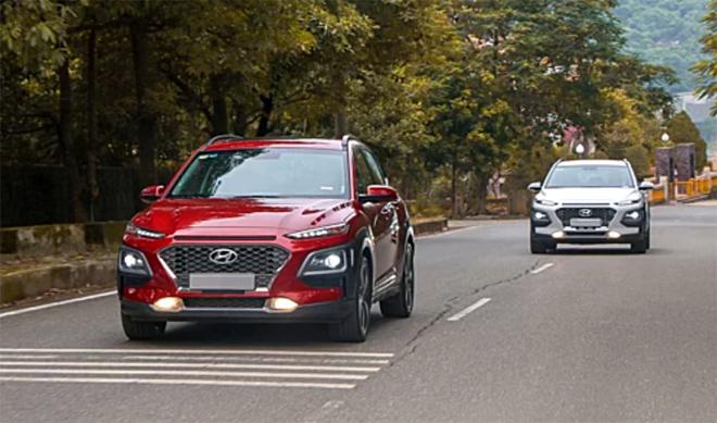 Bộ đôi Hyundai Kona lăn bánh tại Việt Nam.