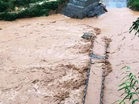 Lũ quét, sạt lở đất có nguy cơ xảy ra tại các khu vực trong tỉnh.