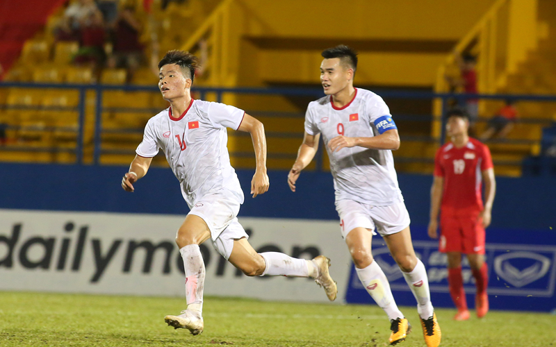 U18 Việt Nam giành được 6 điểm/3 trận đấu