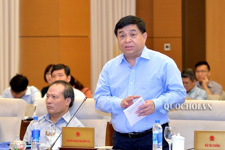 Bộ trưởng Bộ KH-ĐT Nguyễn Chí Dũng.