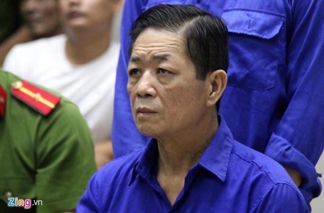 Nguyễn Kim Hưng tại phiên tòa sơ thẩm.