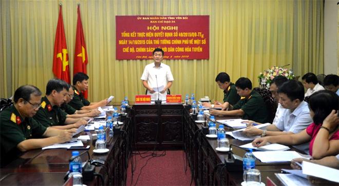 Đồng chí Nguyễn Chiến Thắng, Phó Chủ tịch UBND tỉnh, Trưởng Ban chỉ đạo 24 tỉnh kết luận hội nghị.