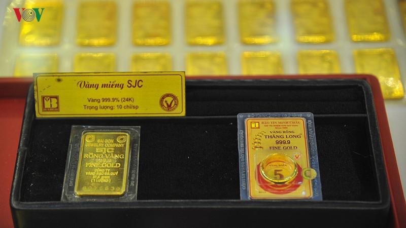 Giá vàng SJC cuối ngày 21/8 niêm yết ở mức 41,30 - 41,60 triệu đồng/lượng (mua vào - bán ra).