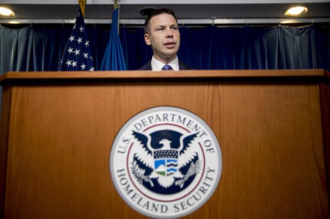 Quyền Bộ trưởng An ninh nội địa Mỹ Kevin McAleenan.