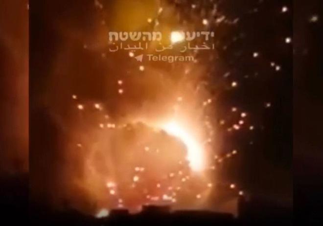 Israel tấn công các mục tiêu ở phía nam Damascus vào cuối ngày 24, rạng sáng 25/8.