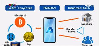 Truy cập vào website Payasian.co của Công ty Pay Asian tại Việt Nam, những thông tin đăng tải rất mập mờ về cách đầu tư tiền điện tử dạng mô hình đa cấp (theo Tuổi Trẻ)