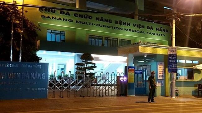 Bệnh viện Đà Nẵng - 1 trong 3 ổ dịch lớn tại Đà Nẵng.