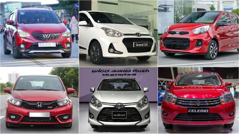 Hiện tại phân khúc xe đô thị cỡ nhỏ tại Việt Nam có tới 6 sản phẩm.