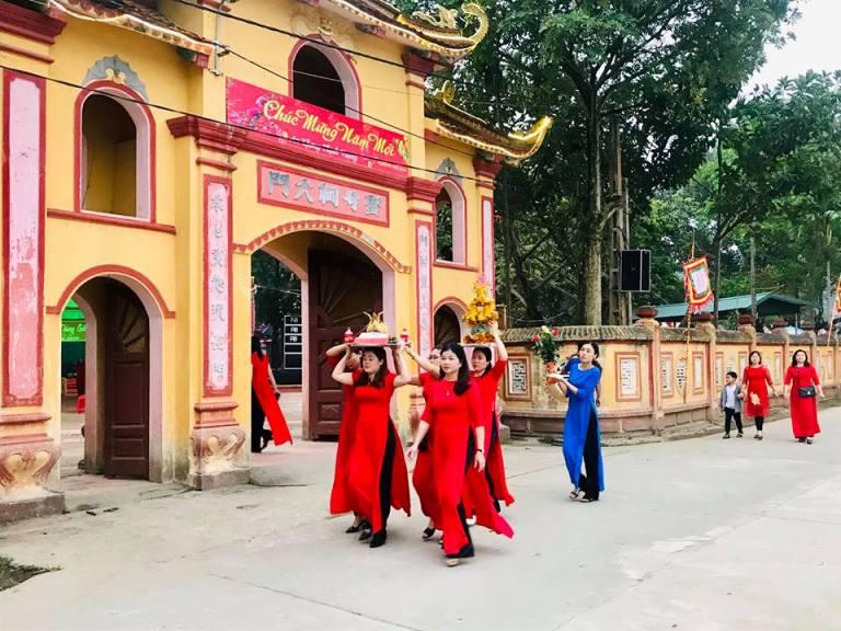 Di tích Đình - Đền - Chùa Nam Cường, xã Nam Cường, thành phố Yên Bái