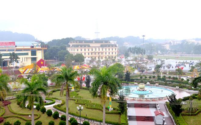 Một góc thành phố Yên Bái. (Ảnh minh họa)