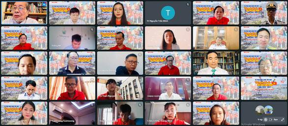 Cuộc thi viết 'Chủ quyền biển đảo bất khả xâm phạm' tổng kết và công bố giải bằng hình thức trực tuyến.
