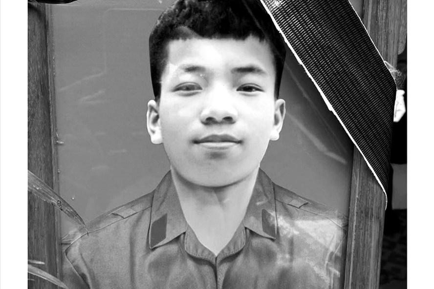 Di ảnh của quân nhân Trần Đức Đô.