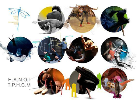 """6 quốc gia tham dự Liên hoan """"Múa đương đại: Sự gặp gỡ Á-Âu"""" 2017."""