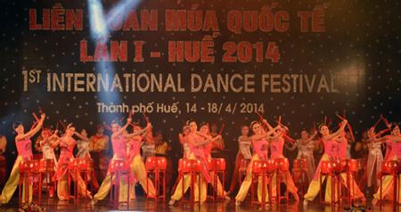 Liên hoan múa quốc tế lần thứ nhất năm 2014.