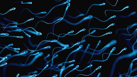 Phát hiện mới tinh trùng có thể chứa đựng đến 27 loại virus có thể gây ngạc nhiên nhiều người.