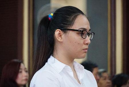 Trần Kim Yến tại phiên tòa       .