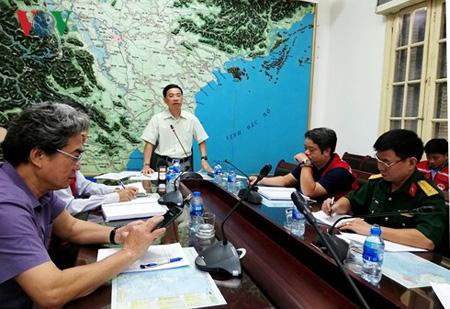 Dự báo đường đi của cơn bão số 5 và siêu bão Mangkhut.