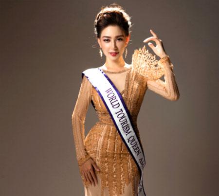 Bác sĩ gốc Việt Lin Taiyang đăng quang ngôi vị Nữ hoàng du lịch thế giới 2018.