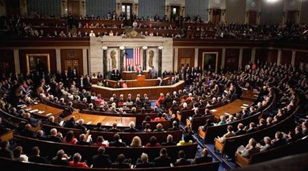 Một phiên họp Quốc hội Mỹ.