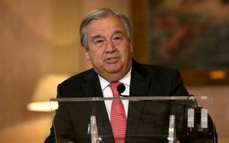 Tổng Thư ký Liên Hợp Quốc Antonio Guterres.