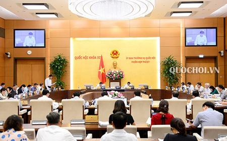 Phiên họp 27 của Ủy ban Thường vụ Quốc hội