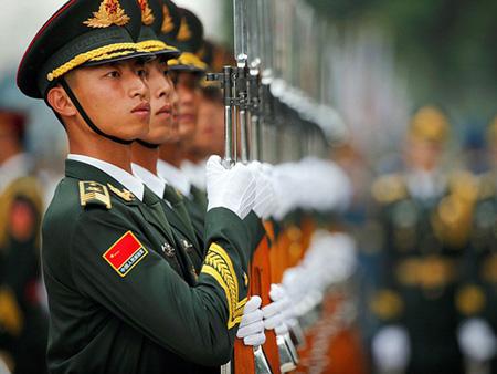 Lực lượng vũ trang Trung Quốc.