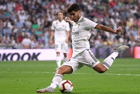 Asensio ghi bàn duy nhất giúp Real thắng trận.